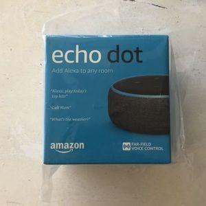 Echo dot 3rd gen new in packaging